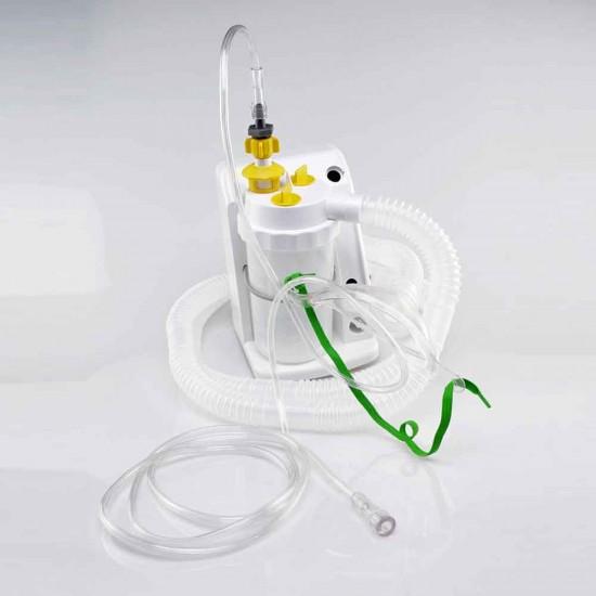 ชุดหน้ากากอ๊อกซิเจนผู้ป่วยเจาะคอ สำหรับผู้ใหญ่ Trachea Mask set Adult w/ holder and tubing