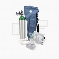 ชุดถังออกซิเจนการแพทย์ MD และวาล์วจ่ายก๊าซ (Demand Valve) พร้อมกระเป๋า
